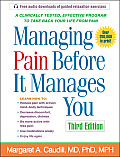Managing Pain Before It Manages You Cover