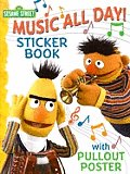 Sesame Street Sticker Activity Book with Poster
