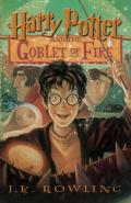 Harry Potter #4: Harry Potter and the Goblet of Fire (Large Print) Cover