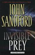 Invisible Prey (Large Print) (Large Print Press)