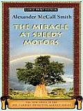 The Miracle at Speedy Motors (Large Print Press) Cover