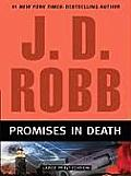 Promises in Death (Large Print) (Large Print Press) Cover