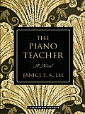 The Piano Teacher (Large Print) (Large Print Press) Cover