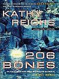 206 Bones (Large Print) (Thorndike Paperback Bestsellers)