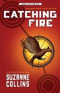 Hunger Games #02: Catching Fire (Large Print) Cover