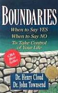 Boundaries: When to Say Yes When to Say No Take Control (Large Print) Cover