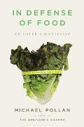 In Defense of Food Signed 1st Edition Cover