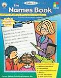Names Book Using Names to Teach Reading Writing & Math in the Primary Grades