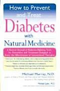 How to Prevent & Treat Diabetes with Natural Medicine