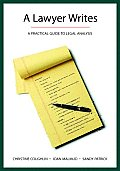Lawyer Writes: a Practical Guide To Legal Analysis (08 Edition) Cover