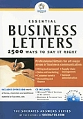 Essential Business Letters 1500 Ways To