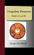 Unspoken Sermons - Series I, II, and III