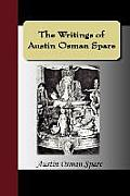 Writings of Austin Osman Spare Automatic Drawings Anathema of Zos the Book of Pleasure & the Focus of Life