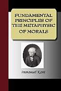 Fundamental Principles of the Metaphysic of Morals Cover
