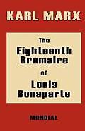 Eighteenth Brumaire Of Louis Bonaparte