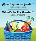 Que Hay En Mi Jardin?/ What's in...