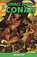 The Savage Sword of Conan, Volume 5 Cover