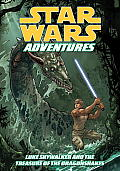 Star Wars Adventures Luke Skywalker & the Treasures of the Dragonsnakes