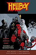 Hellboy: Masks and Monsters (Hellboy) Cover