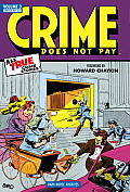 Crime Does Not Pay Archives Volume 3 Cover