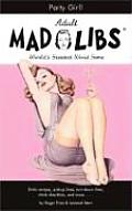 Adult Mad Libs Party Girl