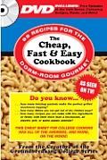 Cheap Fast & Easy Cookbook Book & Dvd