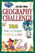 Geography Challenge Level 1: 180 Fun & Creative Problems for Kids: 180 Fun & Creative Problems for Kids Cover