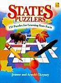 States Puzzlers: 135 Puzzles for Learning State Facts
