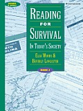 Reading for Survival: In Today's Society, Book 2