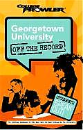 Georgetown University College Prowler Off the Record