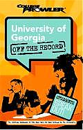 University of Georgia College Prowler Off the Record