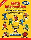 Math Intervention, Grades PreK-2: Building Number Power with Formative Assessments, Differentiation, and Games