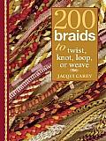 200 Braids To Twist Knot Loop Or Weave