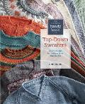The Knitter's Handy Book of Top-Down Sweaters: Basic Designs in Multiple Sizes and Gauges Cover