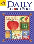 Daily Record Book School Days