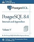PostgreSQL 8.4 Official Documentation - Volume V. Internals and Appendixes