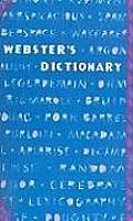Webster's Dictionary (Blue Fashion)