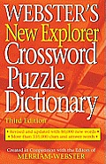 Websters New Explorer Crossword Puzzle Dictionary Third Edition