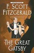 The Great Gatsby (Large Print) (Wheeler Softcover)