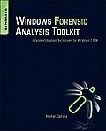 Windows Forensics Analysis Toolkit (3RD 12 Edition)