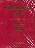 Professional Voice 3 Vol Set: The Science and Art of Clinical Care