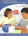 Treatment Protocols for Language Disorders in Children