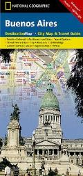 Buenos Aires: Destination City Travel Maps Cover