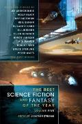 The Best Science Fiction & Fantasy of the Year Volume 5 Cover