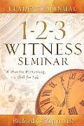 1-2-3 Witness Seminar Leader's Manual
