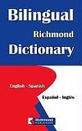 Bilingual Richmond Dictionary English Spanish Espanol Ingles