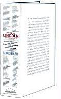 The Lincoln Anthology: Great Writers on His Life and Legacy from 1860 to Now (Library of America #192) Cover