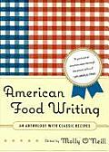 American Food Writing: An Anthology with Classic Recipes Cover