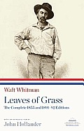 Leaves of Grass: The Complete 1855 and 1891-92 Editions (Library of America Paperback Classics) Cover