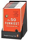 The 50 Funniest American Writers 6 Copy Counter Display